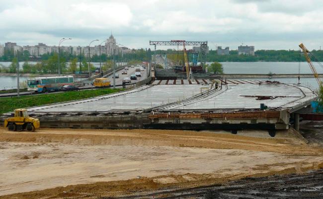 Чернавский мост Воронеж, фото 2008 года