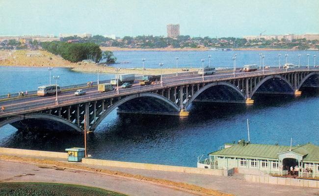 Чернавский мост после 1972 года, фото