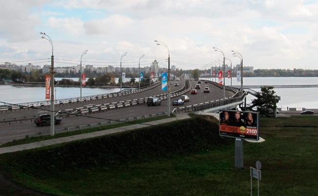Чернавский мост Воронеж: современный вид