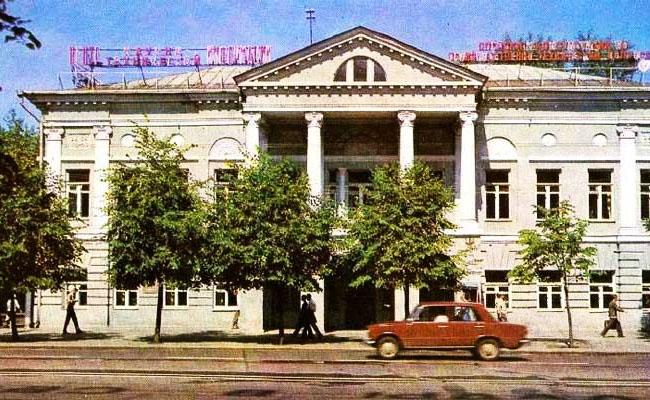 Дом Тулиновых после ВОВ