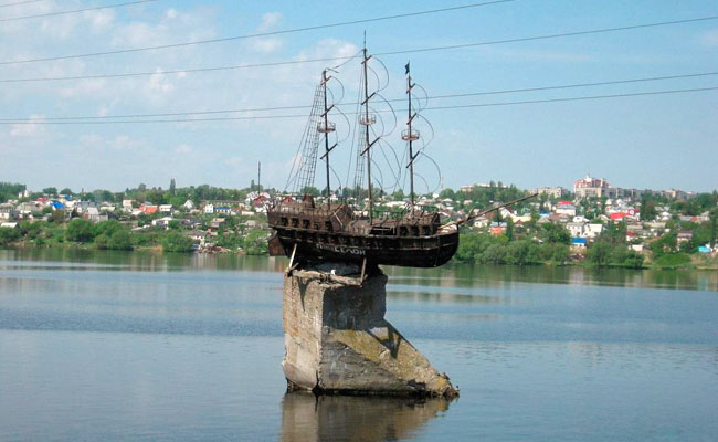 Макет корабля Меркурий в Воронеже
