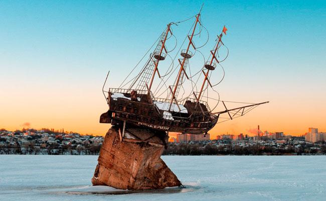 Корабль Меркурий Воронеж, фото