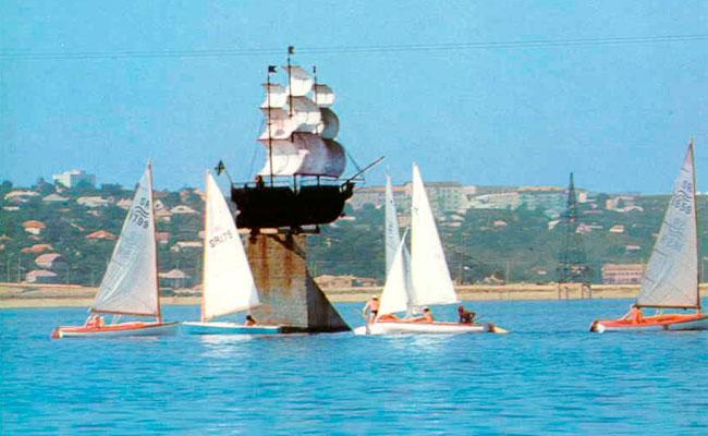 Корабль Меркурий: фото 70-х