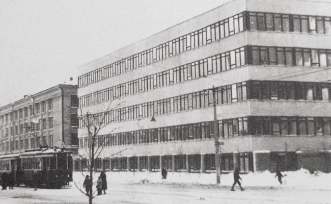 Завод Электроприбор в советское время
