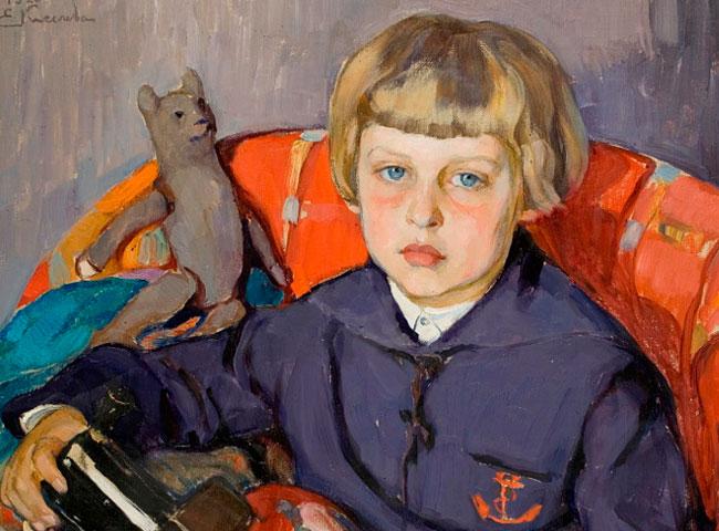 Елена Киселева: портрет сына