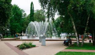 Кольцовский сквер в Воронеже