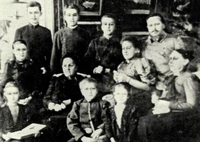 Мосин Сергей Иванович: семейное фото