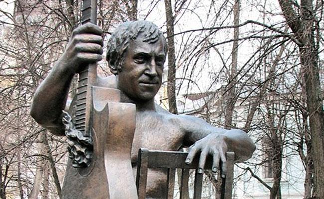 Воронеж, памятник Высоцкому фото