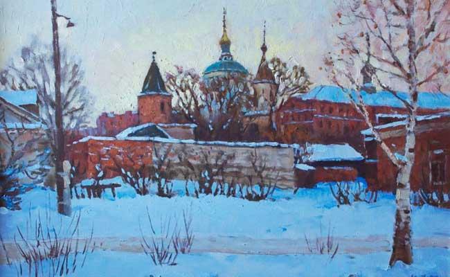 Воронеж: Акатов монастырь. худ. Ю.Ф. Внодченко 1999