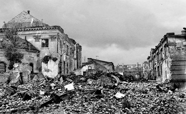 Воронеж во время войны, фото