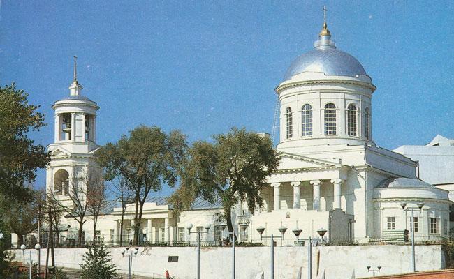 Кафедральный покровский собор, фото 1998 г.