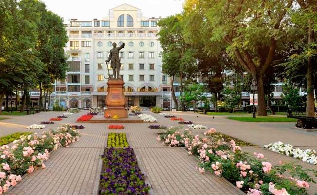 Петровский сквер (Воронеж), фото