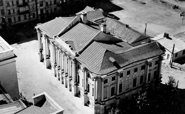 Воронежский дворец: фото, вид сверху