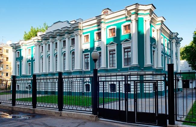 ВОронежский дворец: музей имени Крамского