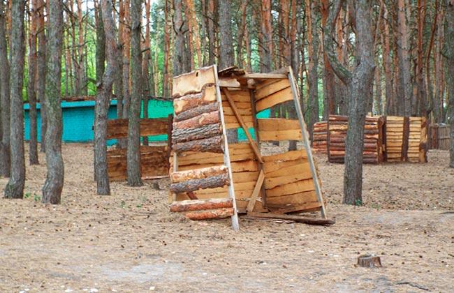 Лазертаг в парке Дельфин (Воронеж)