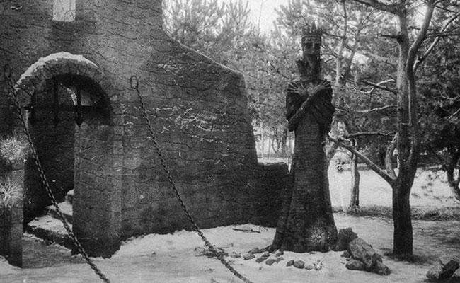 Парк Танаис: замок Кощея