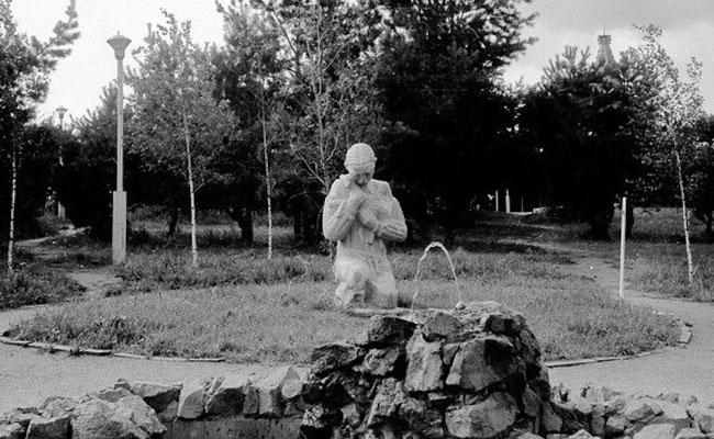 Скульптуры парка Танаис