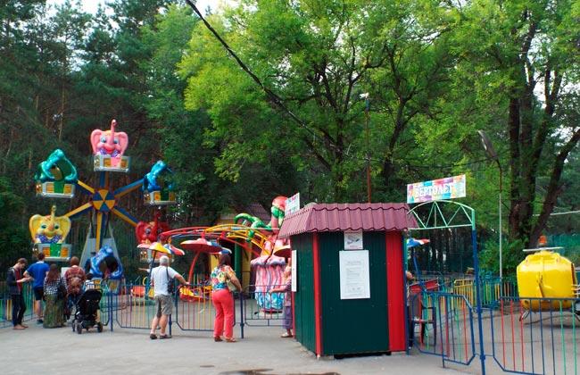 Танаис (Воронеж): детский парк аттракционов