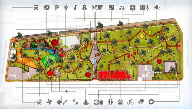 Реконструкция парка Танаис