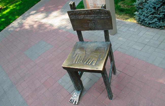 Лечебный стул (Воронеж): вид сверху