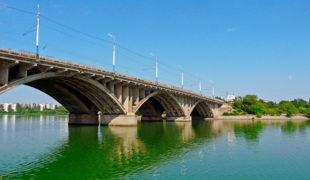 Вогрэсовский мост Воронеж