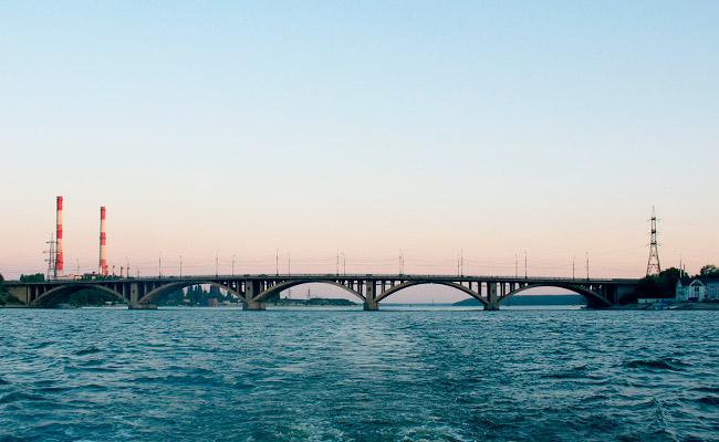 Вогресовский мост в Воронеже