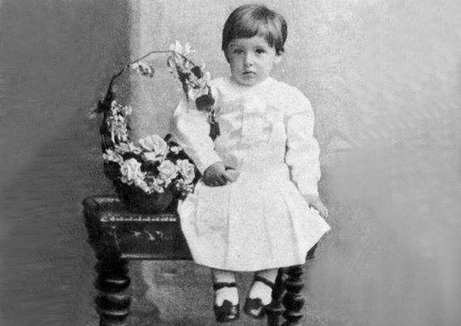 Иван Бунин, детское фото