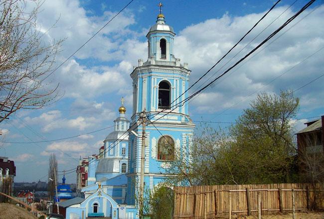 Свято-Никольский храм в Воронеже, фото
