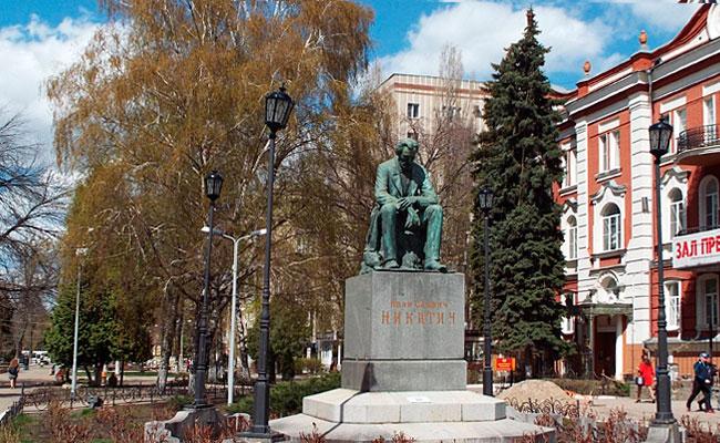 Памятник Никитину (Воронеж), фото