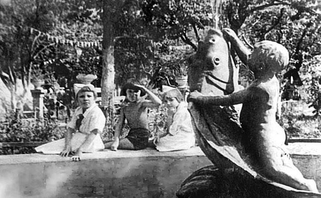 Сад Пионеров (Воронеж), довоенное фото