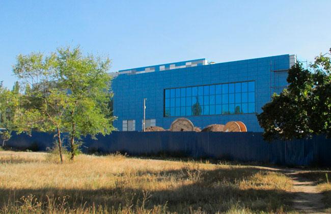 Южный арк Воронеж: строящийся спорткомплекскс