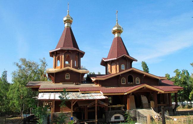 Храм (церковь) в Южном парке (Воронеж)