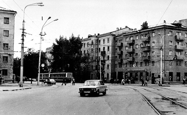 Площадь Заставы (Воронеж), фото 1980 г.