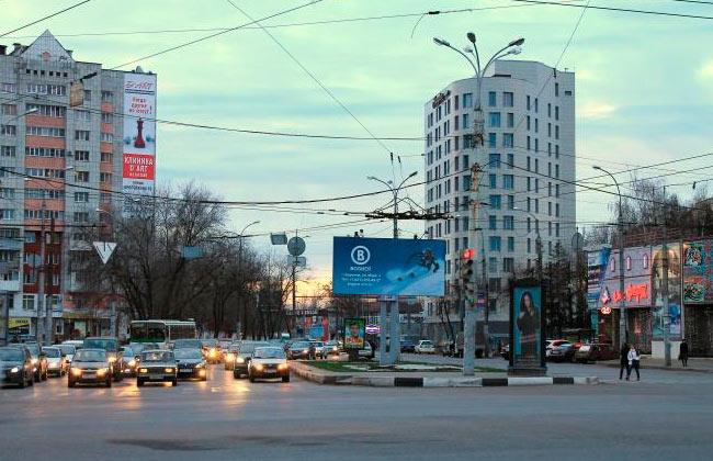 Площадь Заставы, город Воронеж, фото
