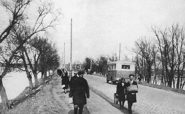 Придаченская дамба (Воронеж), 1933 г.