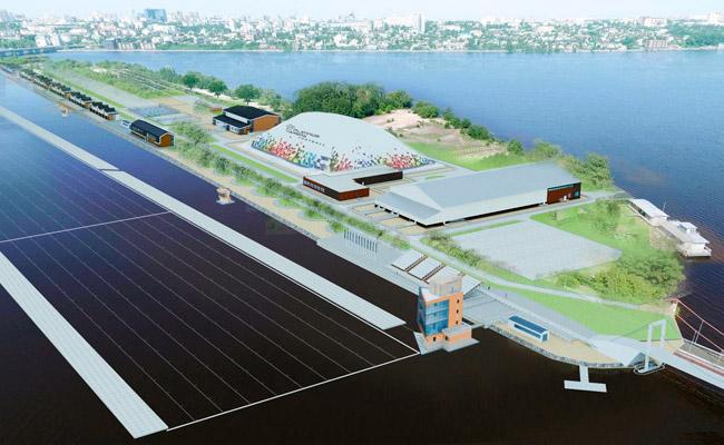 План реконструкции Придаченской дамбы