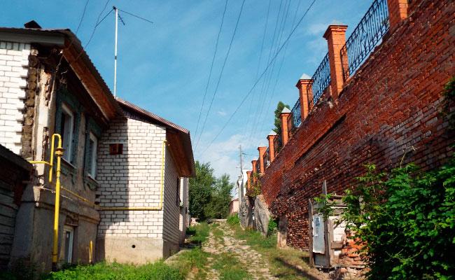 Переулок Фабричный (Воронеж), фото