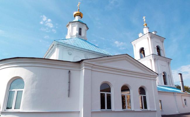 Тихвино-Онуфриевский храм (Воронеж), фото