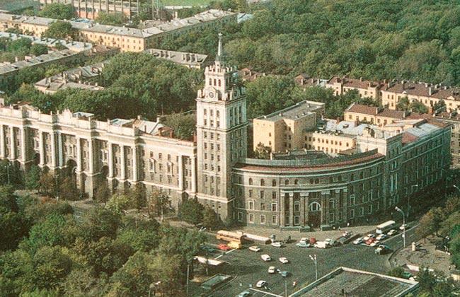 Здание Управления ЮВЖД (Воронеж) в советский период