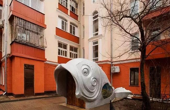 Дом Гармошка в Воронеже: памятник рыбе