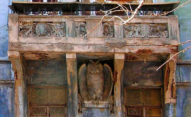 Дом с совой (Форонеж): фото до реставрации