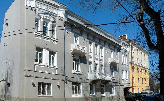 Дом с совой в Воронеже: овременный вид исторического здания