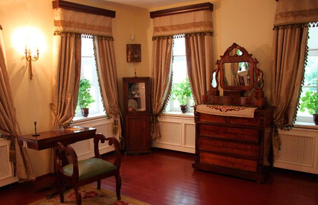 Внутри дома-музея Никитина