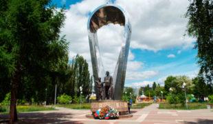 Памятник первому воздушному десанту (Воронеж), фото