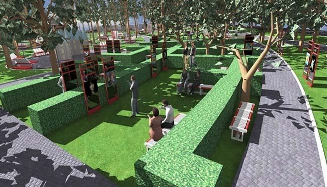 Бринкманский сад Любви: проект реконструкции
