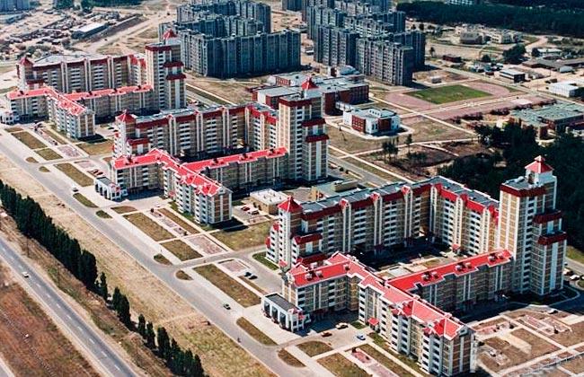 Московский проспект Воронеж: военный городок