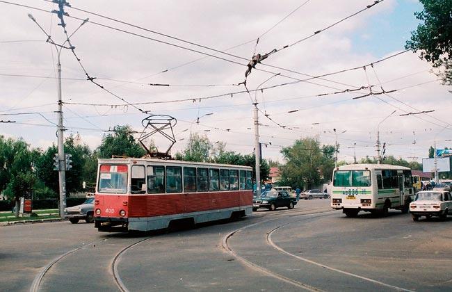 Московский проспект (Воронеж): трамвайные пути