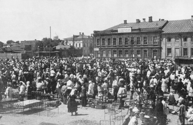 Площадь Ленина (Конная, Староконная) в Воронеже