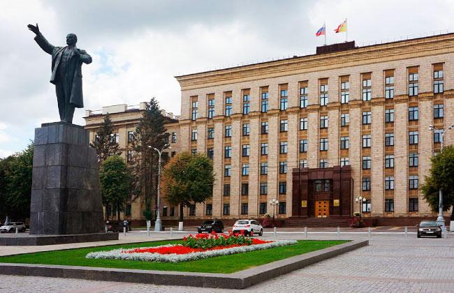 Памятник Ленину в Воронеже, современное фото