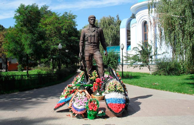 Памятник воинам-интернационалистам Воронеж